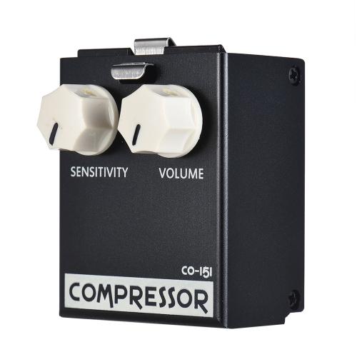 BIYANG LiveMaster Series CO-151 Compressore analogico Compressione a pedale per chitarra Effetto True Bypass