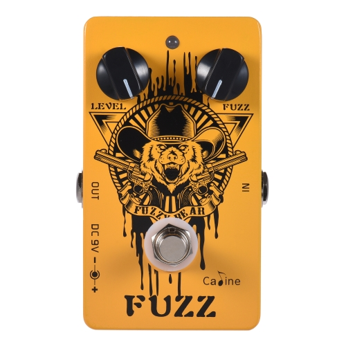Caline CP-46 Fuzz Guitar Effect Pedal Aluminum Alloy With True Bypass
