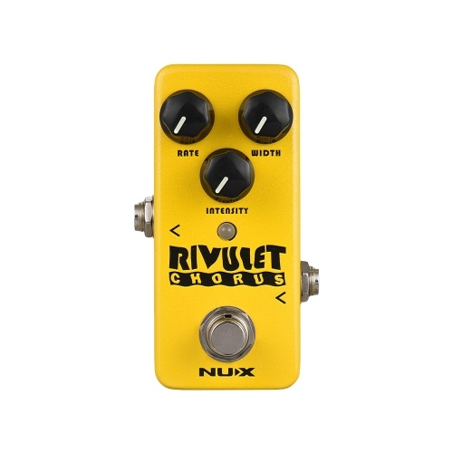 NUX NCH-2 RIVULET Chorus Guitar Effect Pedal Buffered / True Bypass Supporta l'aggiornamento del firmware USB