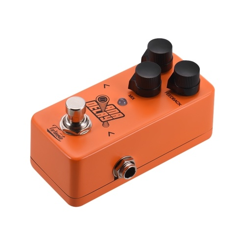 Twinote ANA DELAY Mini Digital Delay Guitar Effect Pedal Processsor Full Metal Shell with True Bypass