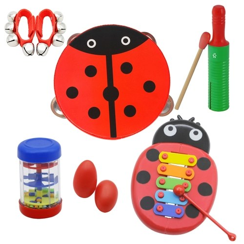 Musical Toys Percussion Instruments Band Rhythm Kit