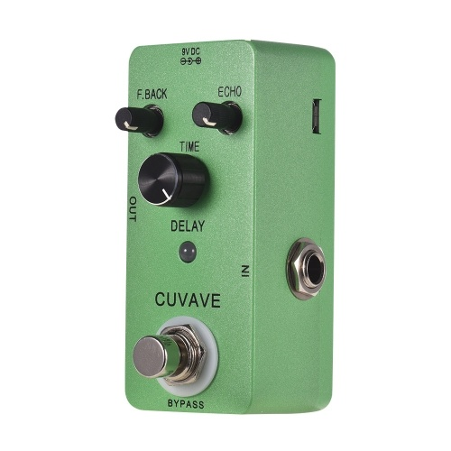 CUVAVE DELAY Analog Classic Delay Echo Guitar Effect Pedal Zinc Alloy Shell True Bypass