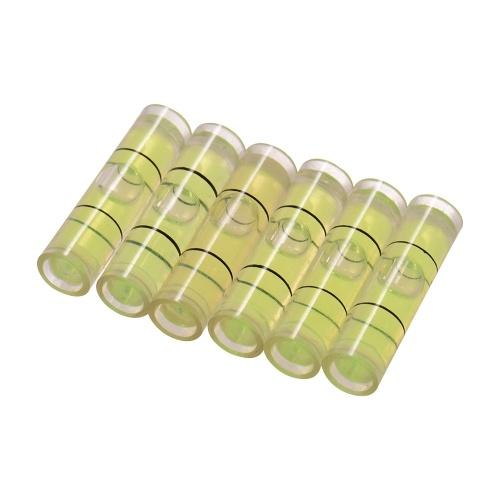 Calibro livellatore mini livella a bolla di precisione per cartucce giradischi per giradischi, 6 pz / pacco