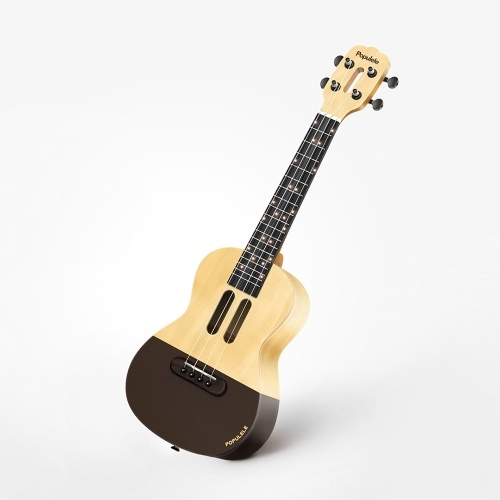 Xiaomi Youpin Populele U1 Intelligent Ukulele 4 Strings 23in  Acoustic Electric Ukulele LED Lamp Beads Little Guitar