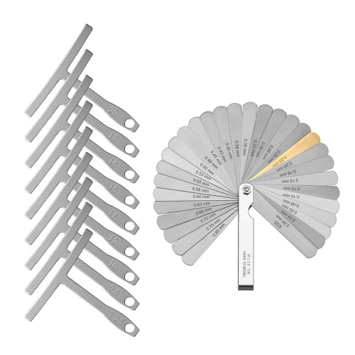 Gitarrenbauer Tools Kit 9 Radius Gauge
