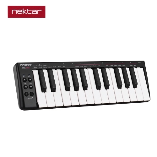 nektar SE25 Mini 25-Key USB MIDI Keyboard Controller