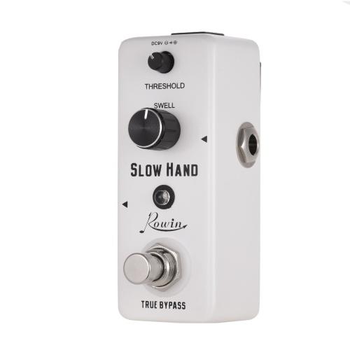 Rowin SLOW HAND Цифровая медленная гитарная педаль эффектов с корпусом из цинкового сплава True Bypass
