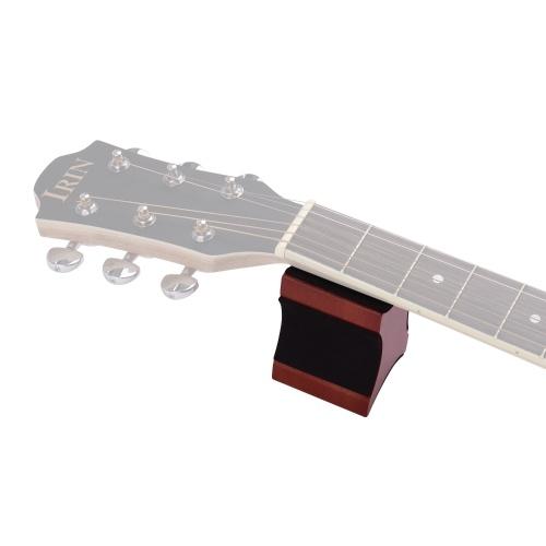 Гитара Шея Отдых Поддержка Подушка Красного Материала 2 Высота Использования Luthier Инструмент для Электрической Акустической Гитары Бас Мандолина фото