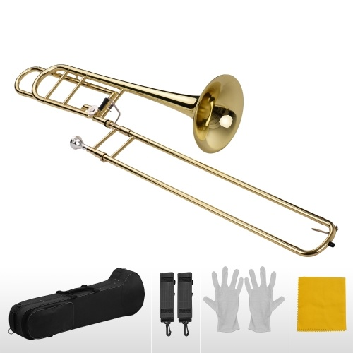 Muslady Upgraded Intermediate Bb Flat Tenor Slide Trombone