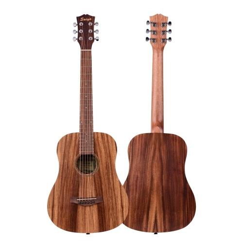 34 Inch Acoustic Guitar Teakwood Material Guitar