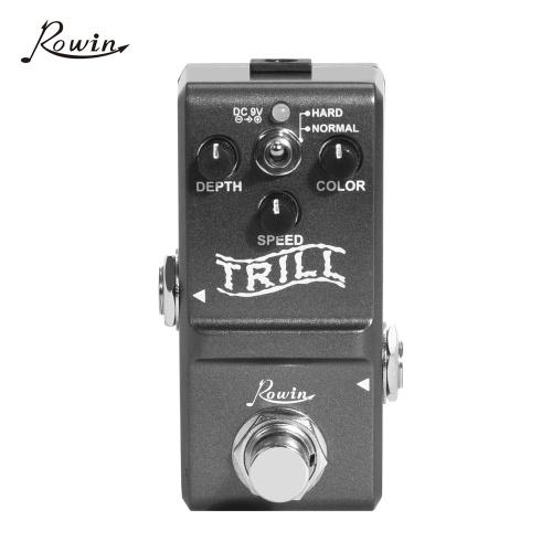 Rowin LN-327 Nano Trill Pedal Tremolo Effect Pedal for Guitar