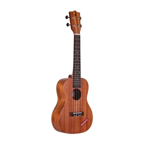 ジャックUK-C10 23インチコンサートウクレレマホガニーウッドハワイギター