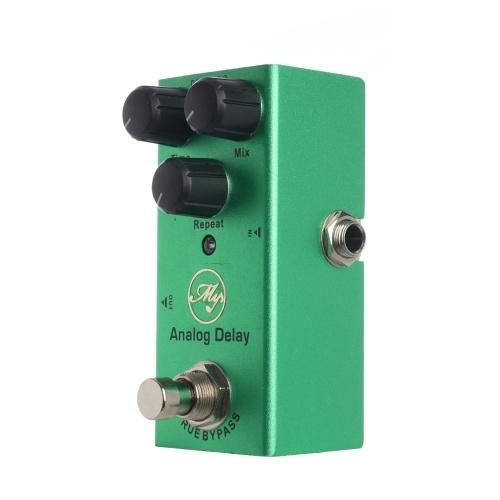 Analoges Delay-Gitarreneffektpedal mit ABS-Bedienknöpfen Mini-Einzelpedal