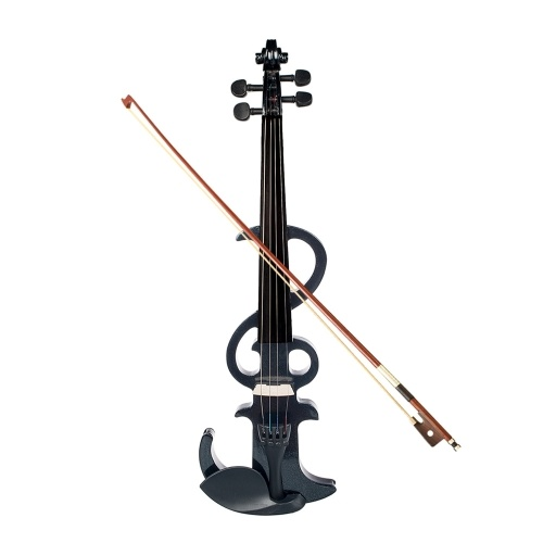 Full Size 4/4 Electronic Silent Violin Set Maple & Ebony Material