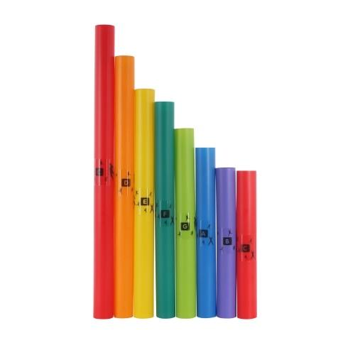 Muslady 8 toni C Major Diatonic Scale Set Strumento musicale a percussione Giocattoli Regalo per bambini
