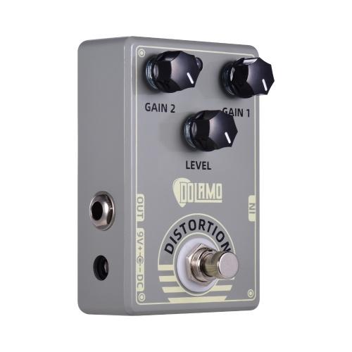 Dolamo D-5 Mark IV Distorsion Pédale d'effet de guitare Pédale de Distorsion avec True Bypass pour guitare électrique