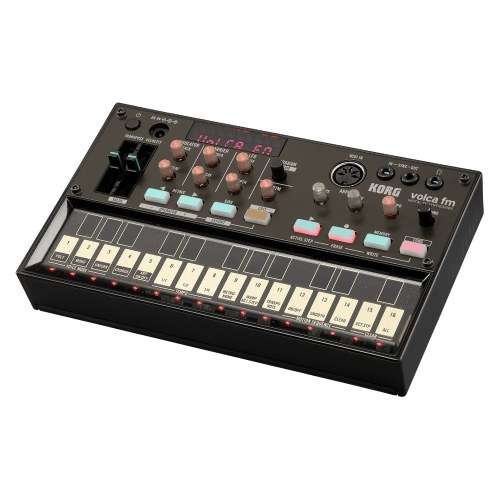 KORG VOLCA FM Mini Digitaler FM-Synthesizer 3-Vocies Chorus 16-Stufen-Sequenzer Sync MIDI IN