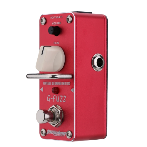 AROMA AGF-3 G-FUZZ Vintage Germanium Fuzz Guitar Effect Pedal Mini Analogue with True Bypass