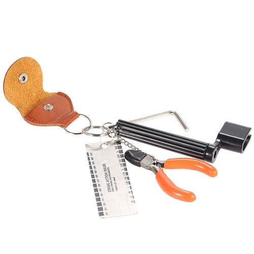 Zestaw akcesoriów do gitary 5-w-1 Zestaw narzędzi