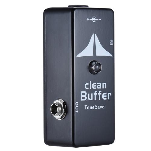 Mini Czyste Buffer Guitar pedał efektów Tone Saver cynkowo-aluminiowy korpus ze stopu