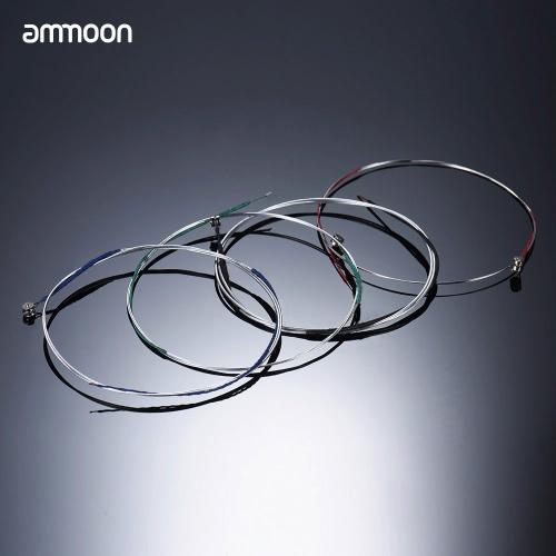 ammoon Full Set Hohe Qualität Violinsaiten Größe 1/2 & 1/4 Violinsaiten Stahlsaiten GDA und E Strings