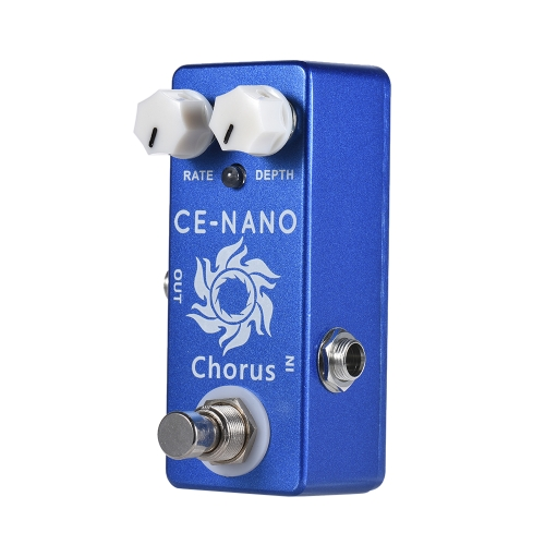 MOSKY CE-NANO Electric Guitar Chorus Effect Pedal Full Metal Shell True Bypass