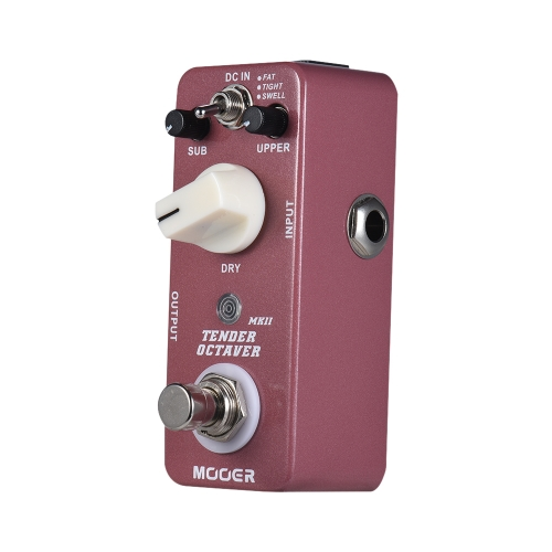 MOOER TENDER OCTAVE MKII Octave Guitar Effect Pedal 3 Modes True Bypass Full Metal Shell