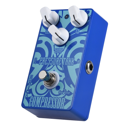 Caline CP-47 Pressure Tank Compressor Compress Guitar Effect Pedal Aluminum Alloy With True Bypass
