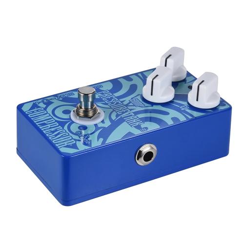 Lega di alluminio del pedale di effetto della chitarra del comprimere del compressore del carro armato di pressione di Caline CP-47 con il vero bypass