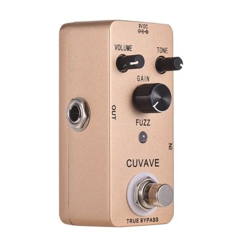 CUVAVE FUZZ Vintage Fuzz Guitar Effect Pedal Zinc Alloy Shell True Bypass