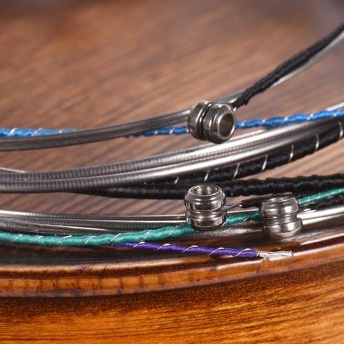 Alice A805A Универсальный полный набор (ADGE). Виолончельные струны. Стальной сердечник. Обмотка из сплава Ni-Fe, 4шт / комплект