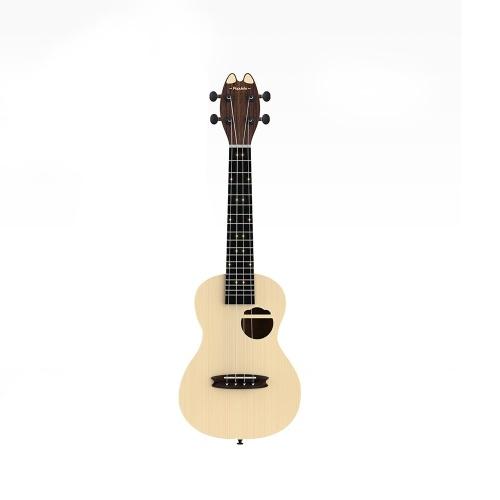 Xiaomi Youpin Populele Intelligente Ukulele 4 Saiten 23in Akustische Elektrische Ukulele LED Lampe Perlen Kleine Gitarre