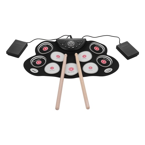 Ultra-Compact Electronic Drum Set