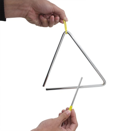 Triangle Triangolo Idiophone Percussion Toddle Kid Musical Toy