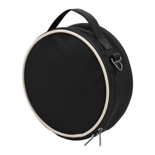 Pulgar portátil Piano Estuche blando Tela impermeable Forma de círculo Kalimba Bolsa de almacenamiento