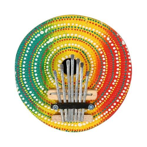 7 Keys Colorful Thumb Piano Kalimba Mbira Finger Piano