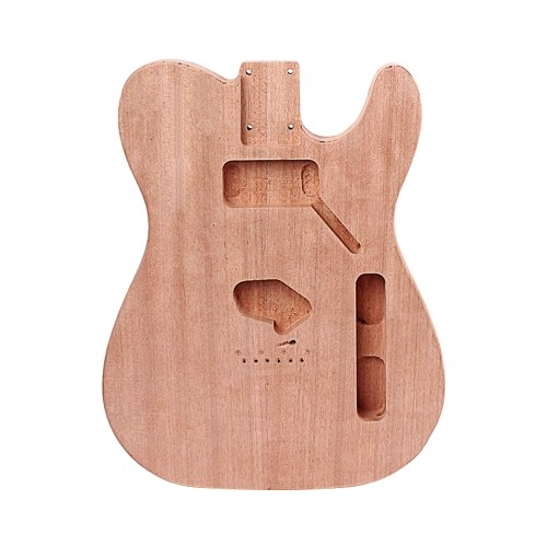 TL электрогитара корпус из цельного дерева гитара DIY аксессуар с отверстием для звукоснимателя хамбак цвет натурального дерева