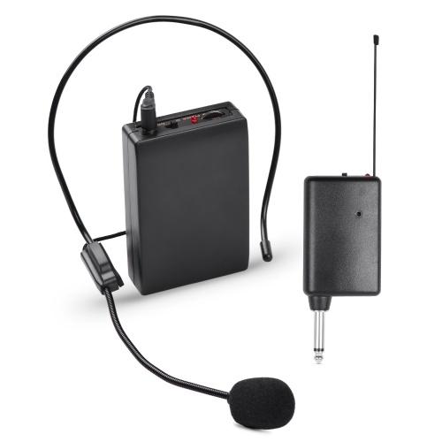 ポータブルVHFワイヤレスマイクシステム