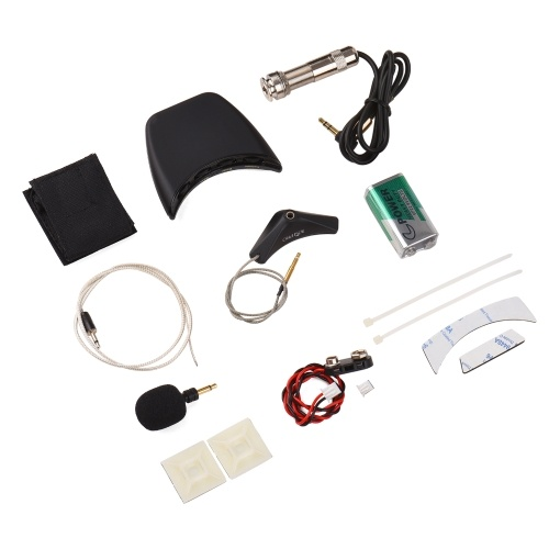 JUSTPRO Acoustic Guitar Soundhole Pickup Piezo