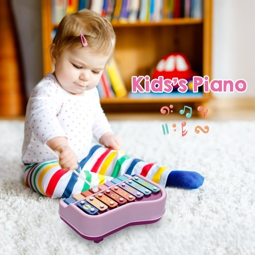2 in 1 Piano Xylophone Musical Instrument Toy