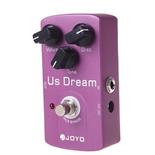 JOYO JF-34 US sogno distorsione chitarra effetto pedale True Bypass