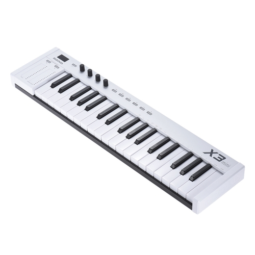 MIDIPLUS X3 mini 37-key USB MIDI Keyboard Controller LED Display with USB Cable