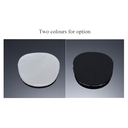 アルト/テナーサックスサックスマウスピースクッションパッチパッドシリコーン材料の厚さ0.8ミリメートル8本