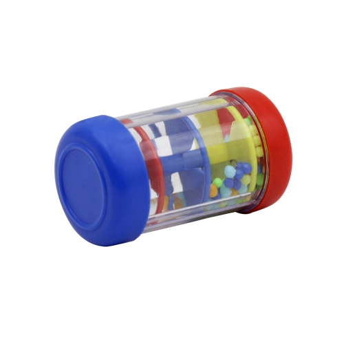 9cm / 3.5in Mini Rainmaker Tube Shaker Juguete de instrumentos musicales para niños pequeños Childern Music Sensory Auditory Training