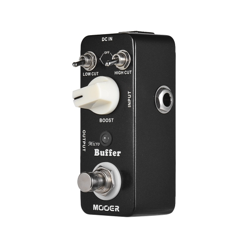 MOOER Micro Buffer Guitar Effect Pedal True Bypass Full Metal Shell