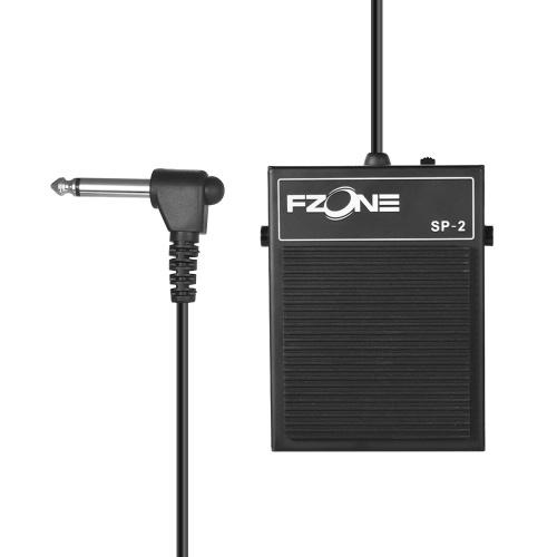 O teclado elétrico de Fzone SP-2 sustenta o material do metal do pedal com o plugue de 6.35mm