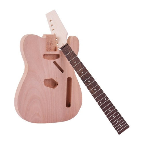 Muslady Unfinished Electric Guitar DIY Kit