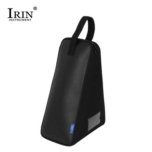 IRIN Sac à pédale simple Protection en cuir Pédales de caisse de batterie Étui de transport Accessoires de percussion