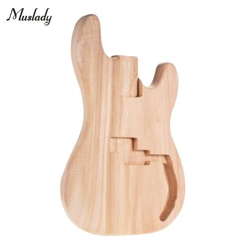 Muslady PB-T02 E-Gitarren-Rohbau