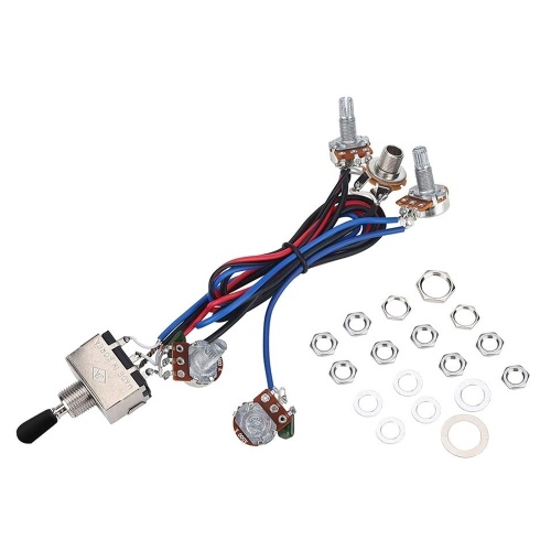Prewired Wiring Harness Kit for LP Electric Guitar